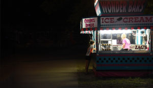 Ice cream stand in Iowa, 2016